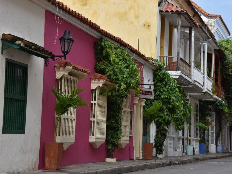 Farver i Cartagena, Colombia