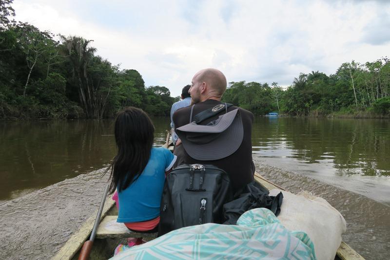 Hana og Rasmus i Amazonas, Colombia
