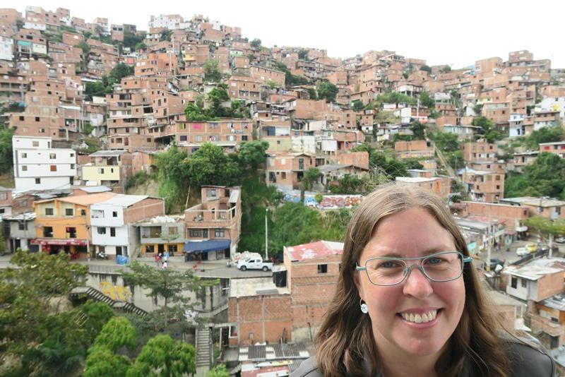 Udsigt over Medellin, Colombia
