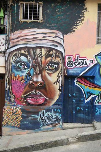 Grafitti i Comuna 13