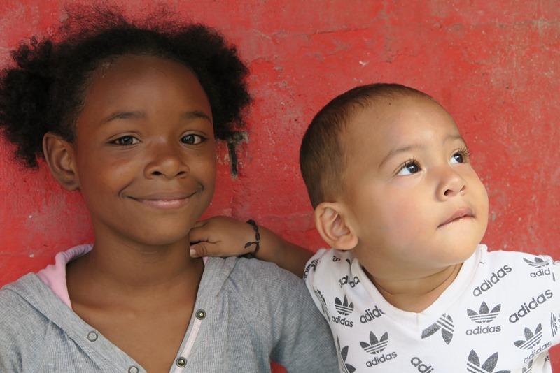 Børn fra Comúna 13 Medellin, Colombia