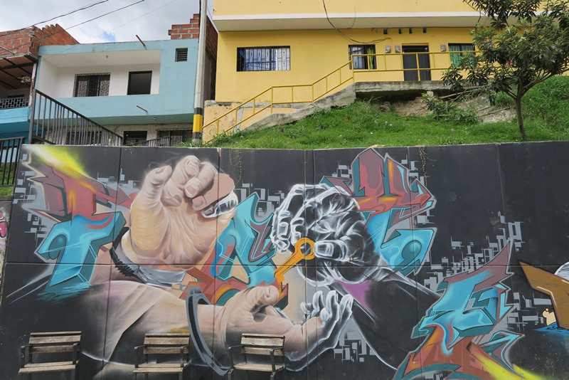 Graffiti i Comuna 13