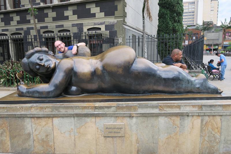 Fernando Botero i Medellin, Colombia