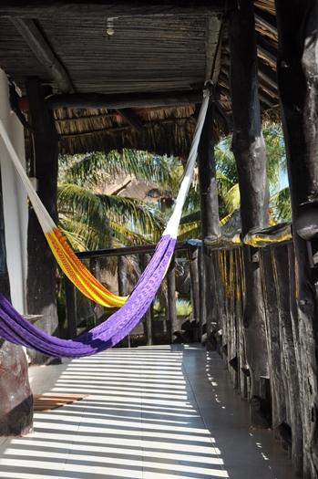 Vores hotel på Holbox, Mexico