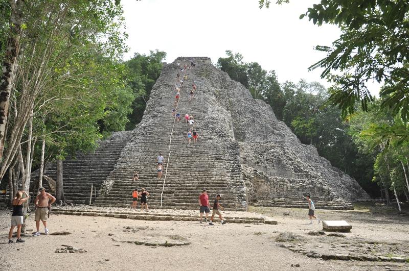 Den højeste mayakonstruktion, Mexico