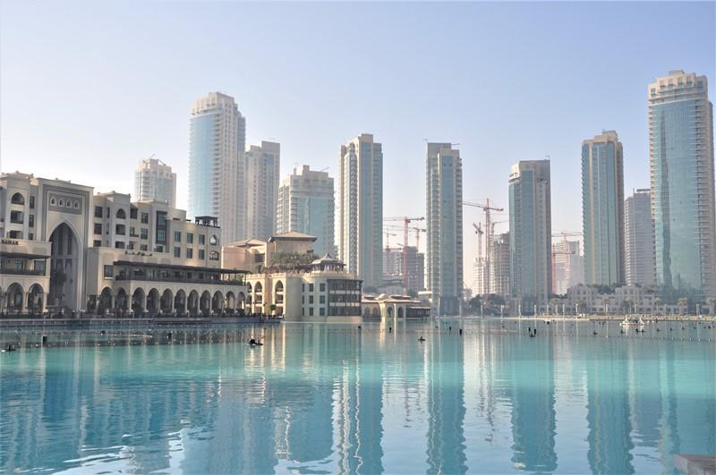 Området ved Burj Khalifa