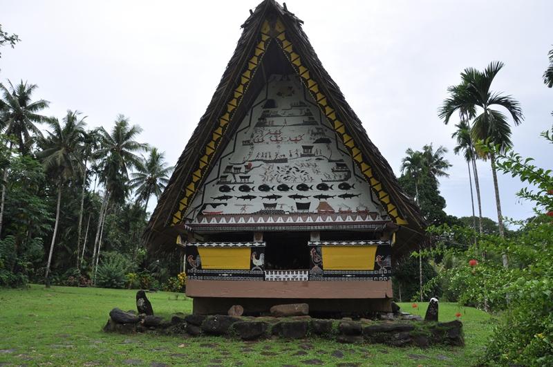 Fint mandehus på Palau