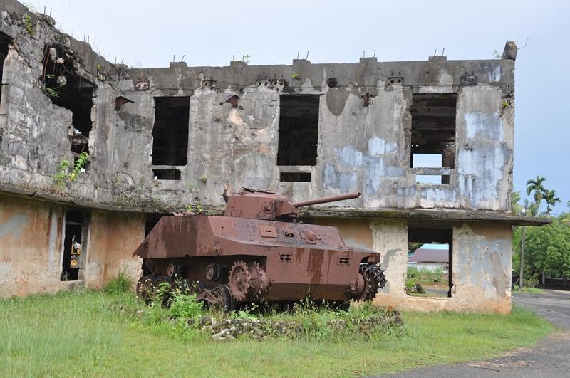 Efterladenskaber fra 2. Verdenskrig på Palau