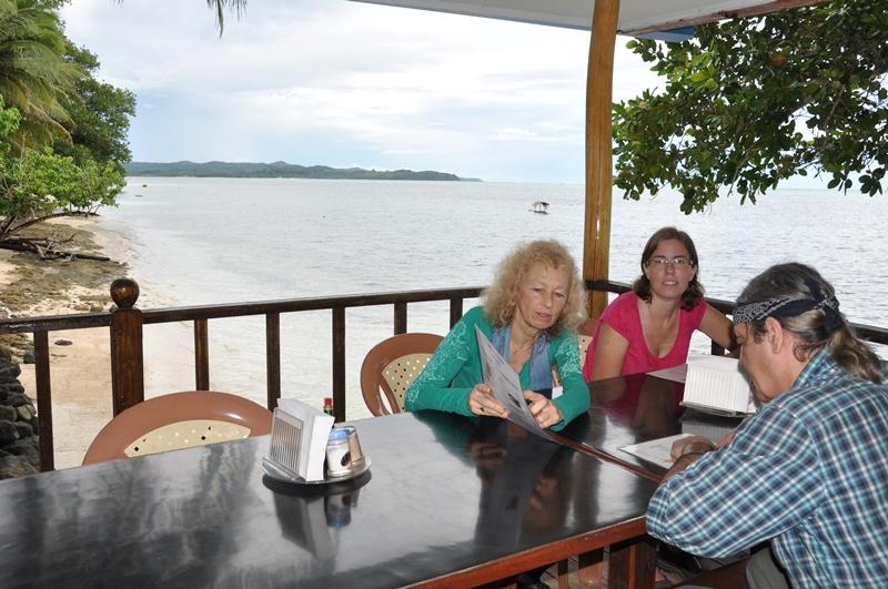 Hygge på Palau