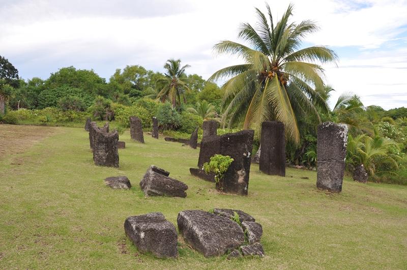 monolitter på Palau