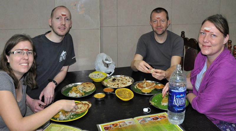 Vi hygger med indisk mad, Chennai