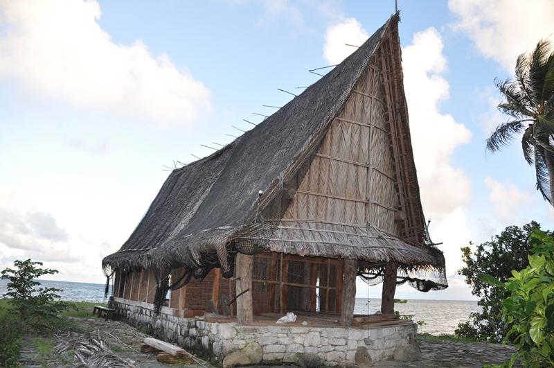 Mandehus på Yap, Mikronesien