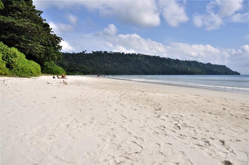 Stranden Beach no 7 på Havelock, Andamanerne