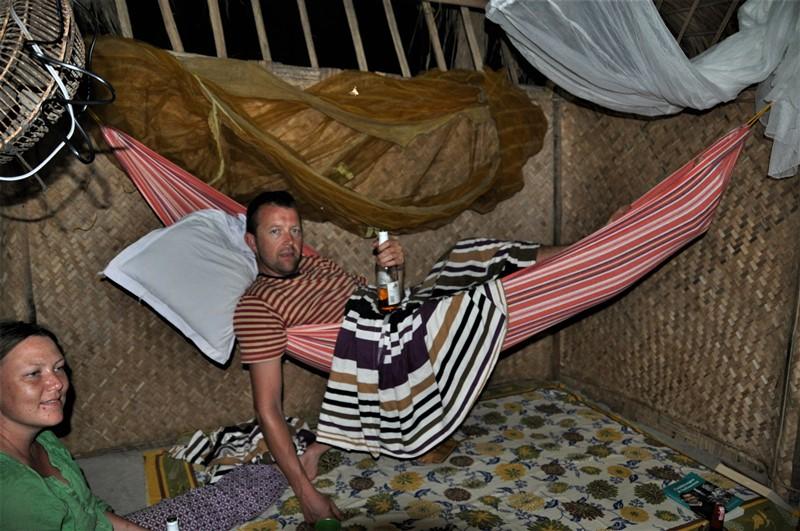 Aftenhygge på Neil Island, Andamanerne