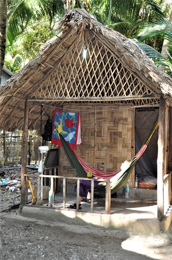 Cocon huts, Neil Island, Andamanerne