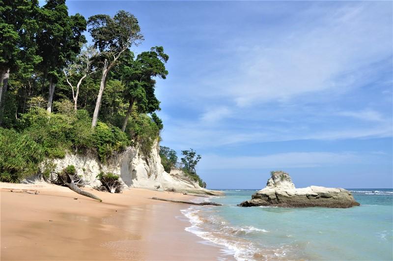 Lækker strand på Neil Island, Andamanerne