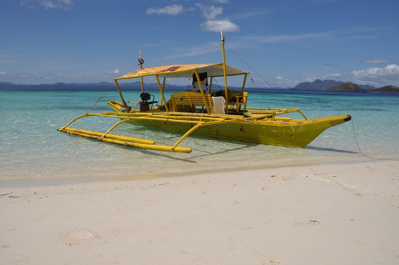 Vores båd for dagen, Coron, Filippinerne