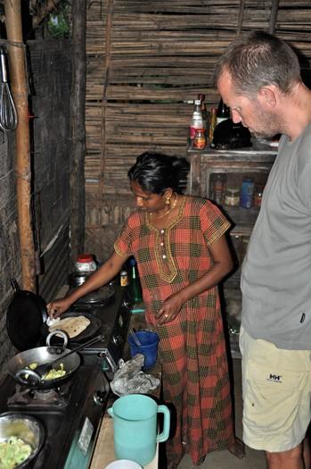 Mesterkokke på Neil Island, Andamanerne