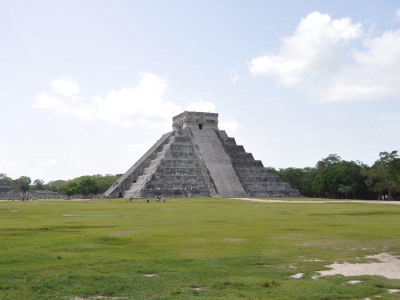 Den store pyramide ved Chichen Itza, Mexico