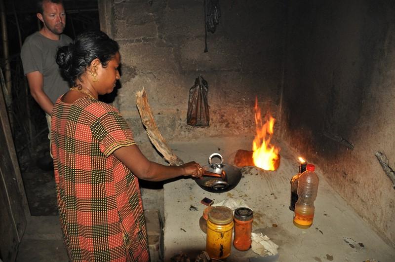 På kokkeskole hos Lipi, Neil Island, Andamanerne