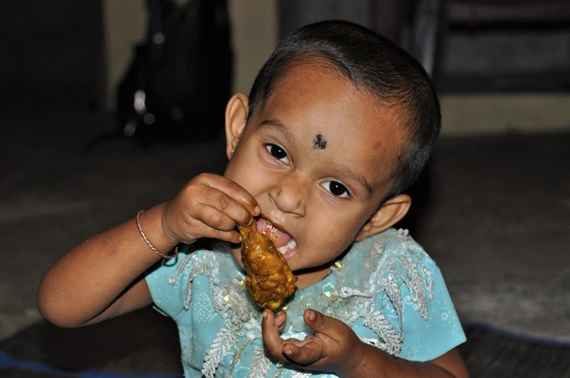 Der guffes kylling, Neil Island, Andamanerne