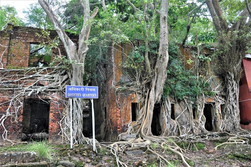 Ross Island, Andamanerne