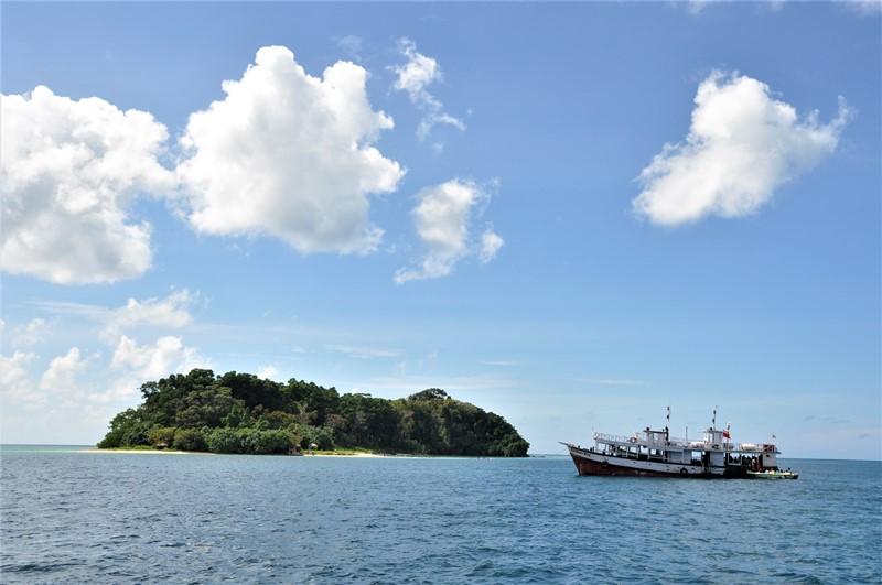 På vej til Jolly Bouy island, Andamanerne