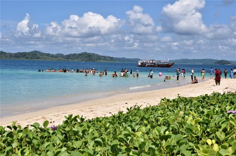 Jolly Bouy island, Andamanerne