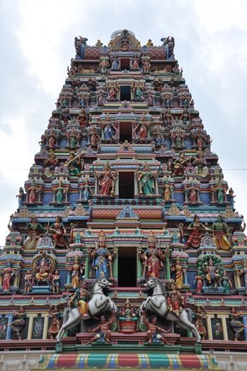 Indisk tempel i Kuala Lumpur
