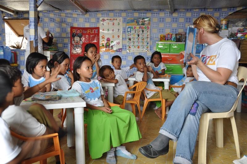 Love2Learn school, Smokey Mountains, Filippinerne