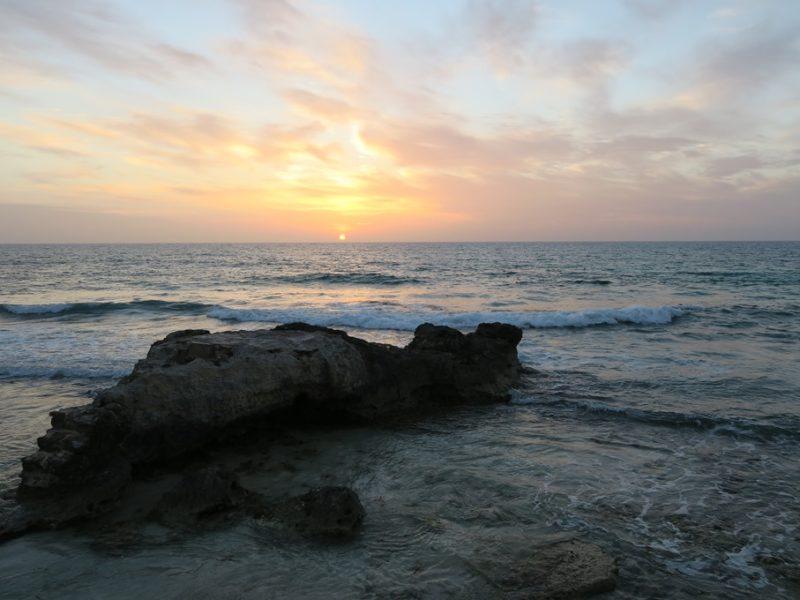 Solopgang over Isla Mujeres