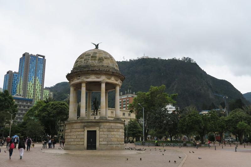 Mødested til graffititur i Bogota, Colombia