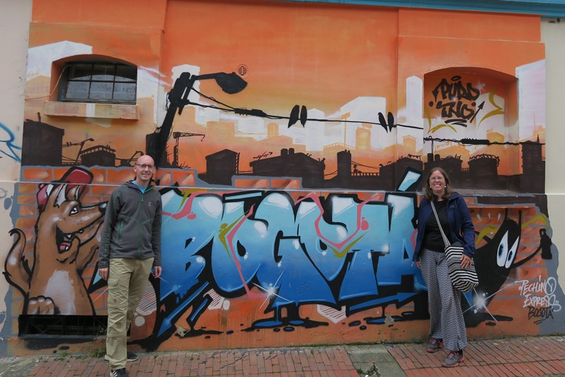 Two Danes On Tour møder graffiti i Bogota