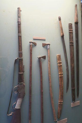 Våben på Dubai museum
