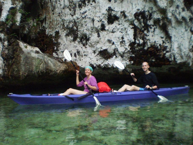 Kajaktur på Palau