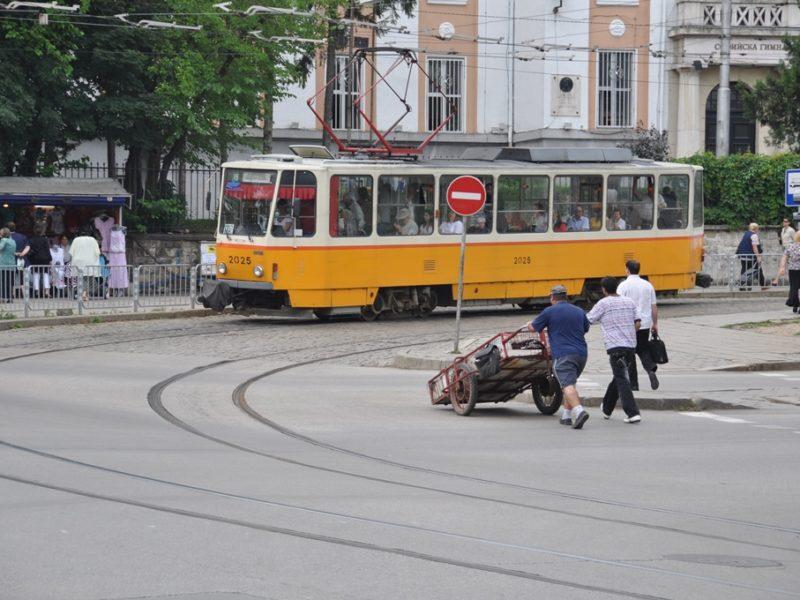 Sporvogn i Sofias gader
