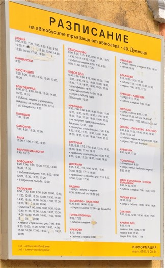 Buskøreplan med sproglige udfordringer