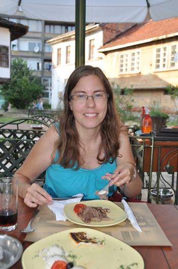 Lækker mad i Gabrovo, Bulgarien