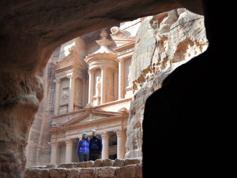 På tur til Petra