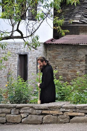 Vi besøger et kloster, Bulgarien