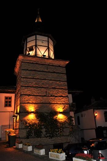 Klokketårnet i Tryavna, Bulgarien