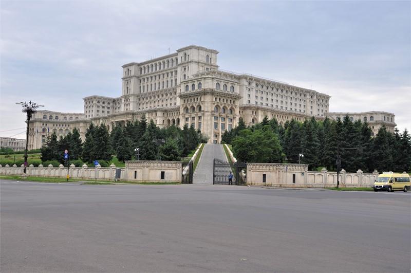 Paladset i Bukarest, Rumænien