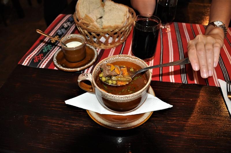 Dejlig suppe i Rumænien