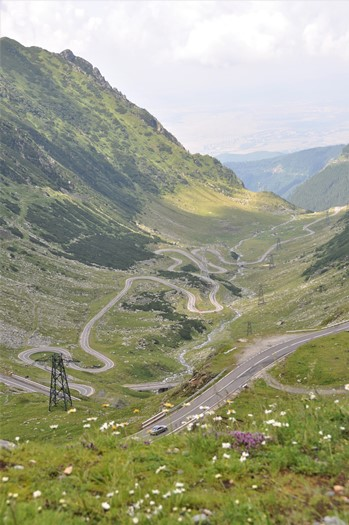 På roadtrip i Transylvanien, Rumænien