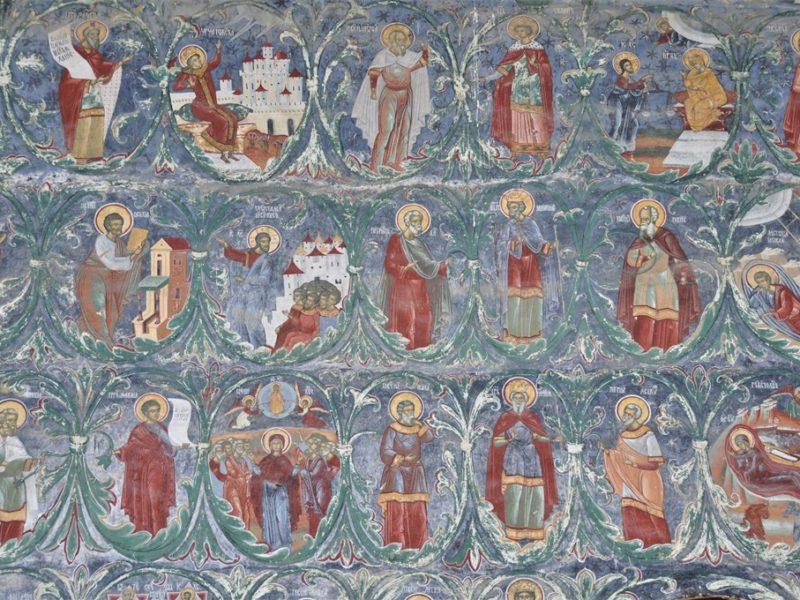 De malede kirker i Bucovina