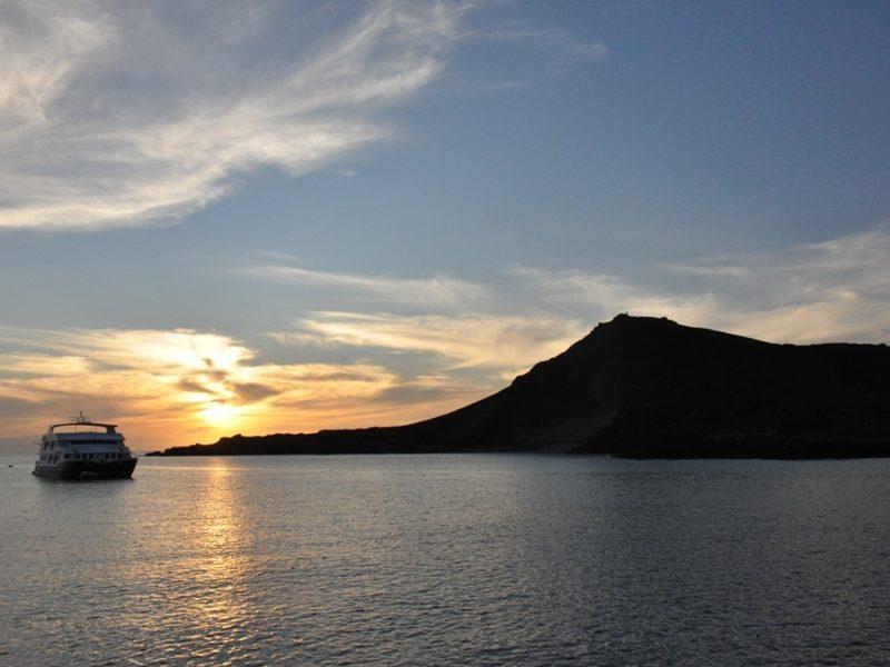 Solnedgang over Galapagos