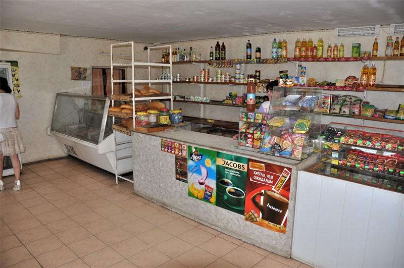 Butik på landet i Transnistrien