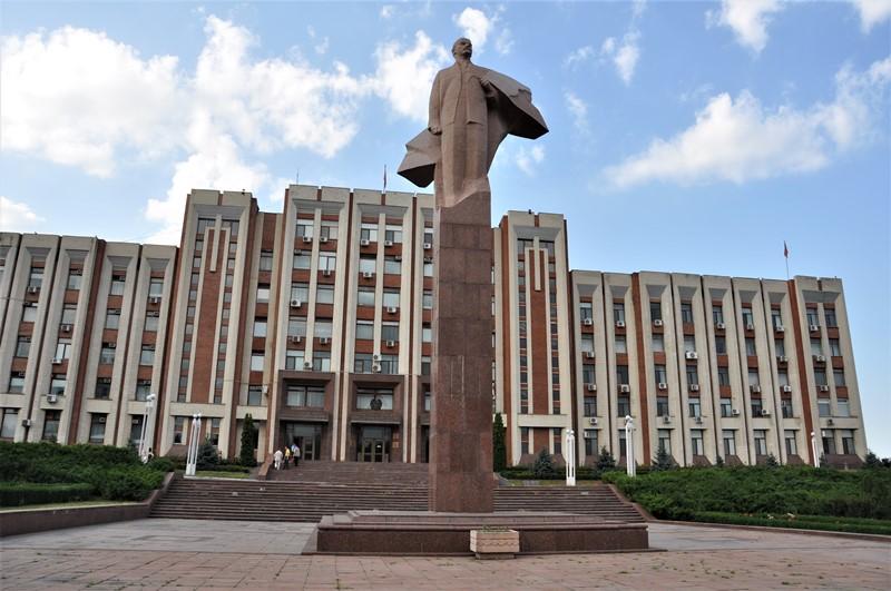 Lenin i Tiraspol, Transnistrien