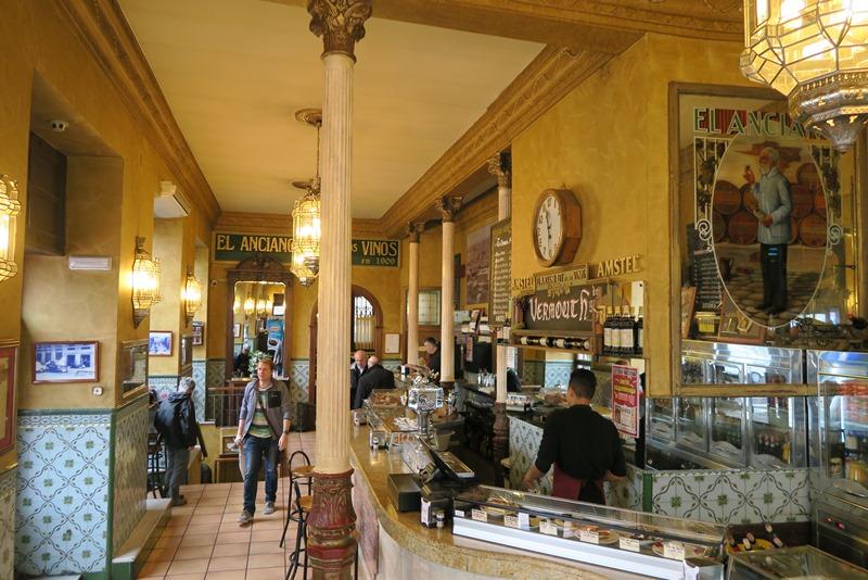 På food tour i Madrid
