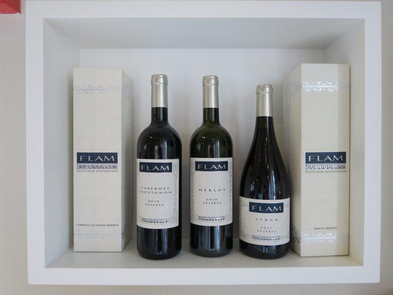 På besøg hos FLAM Winery i Israel